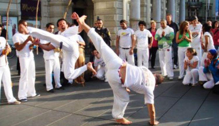 Passeio - Aula de Capoeira