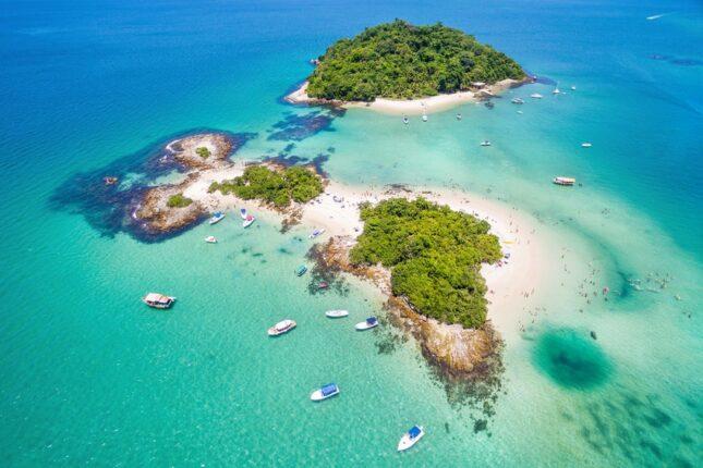 Praia Angra Ilha de Cataguases -