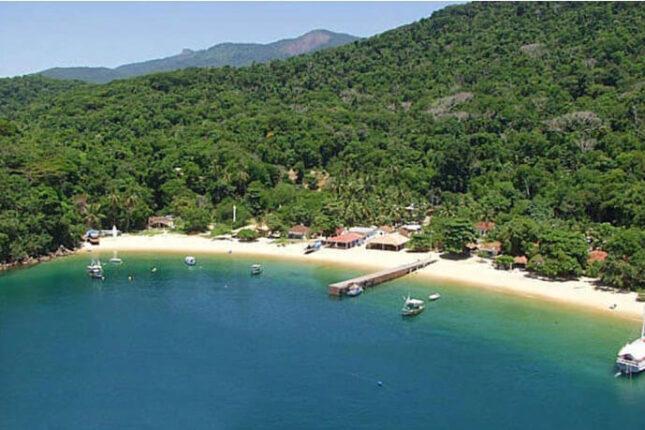Praia de Japariz Ilha Grande -
